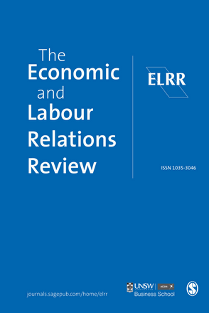 The Economic and Labour Relations Review Journal image