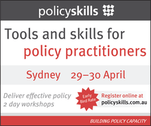 Tools and Skills for Policy Practitioners