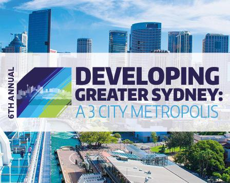 Developing Greater Sydney Summit event logo